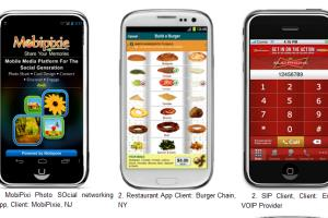 Mobile, Web and Other Apps