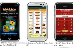 Portfolio for iPhone,  BlackBerry, Android Development