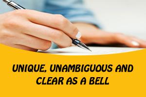 """Portfolio for Content Writing – """"Unique & Unambiguous"""