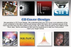 Portfolio for CD Cover Design Package