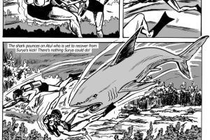 Portfolio for Comic Strips/Graphic novels