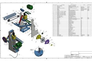 Portfolio for CAD -2D Drawing/ 3D Modeling