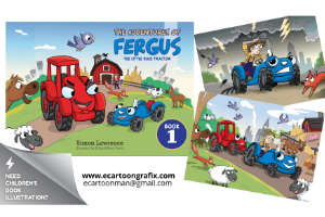 Portfolio for illustration graphics & cartooning
