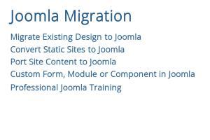 Portfolio for Joomla Migration