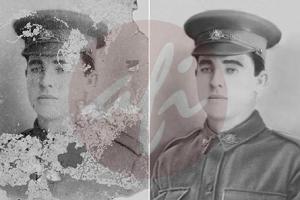 Portfolio for Photo restoration and retouching