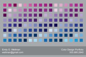 Portfolio for Color- Footwear and Apparel Design