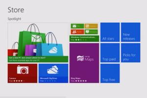 Portfolio for Windows 8 applications development