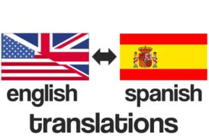 Portfolio for Spanish/English Translation