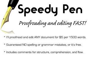 Portfolio for Ghost writer, book editor