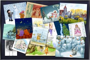 Portfolio for Children Books Illustrations