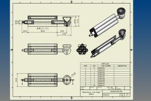 Portfolio for CAD & AutoCAD Manufacturing Drawings