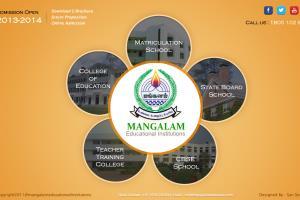 Education Website - Mangalam