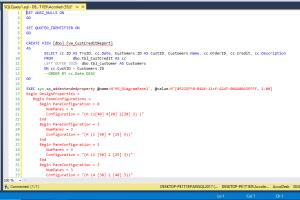 Portfolio for SQL & Database Programming