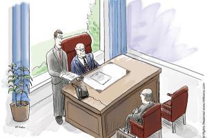 Portfolio for Business & Advertising Cartooning