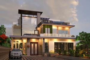Portfolio for 3d Architecture Rendering