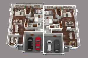Portfolio for 3D Floor Plans