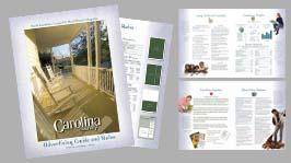 Portfolio for Marketing/Sales brochures