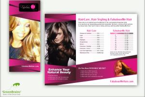Portfolio for Brochures, Flyers & PostCards