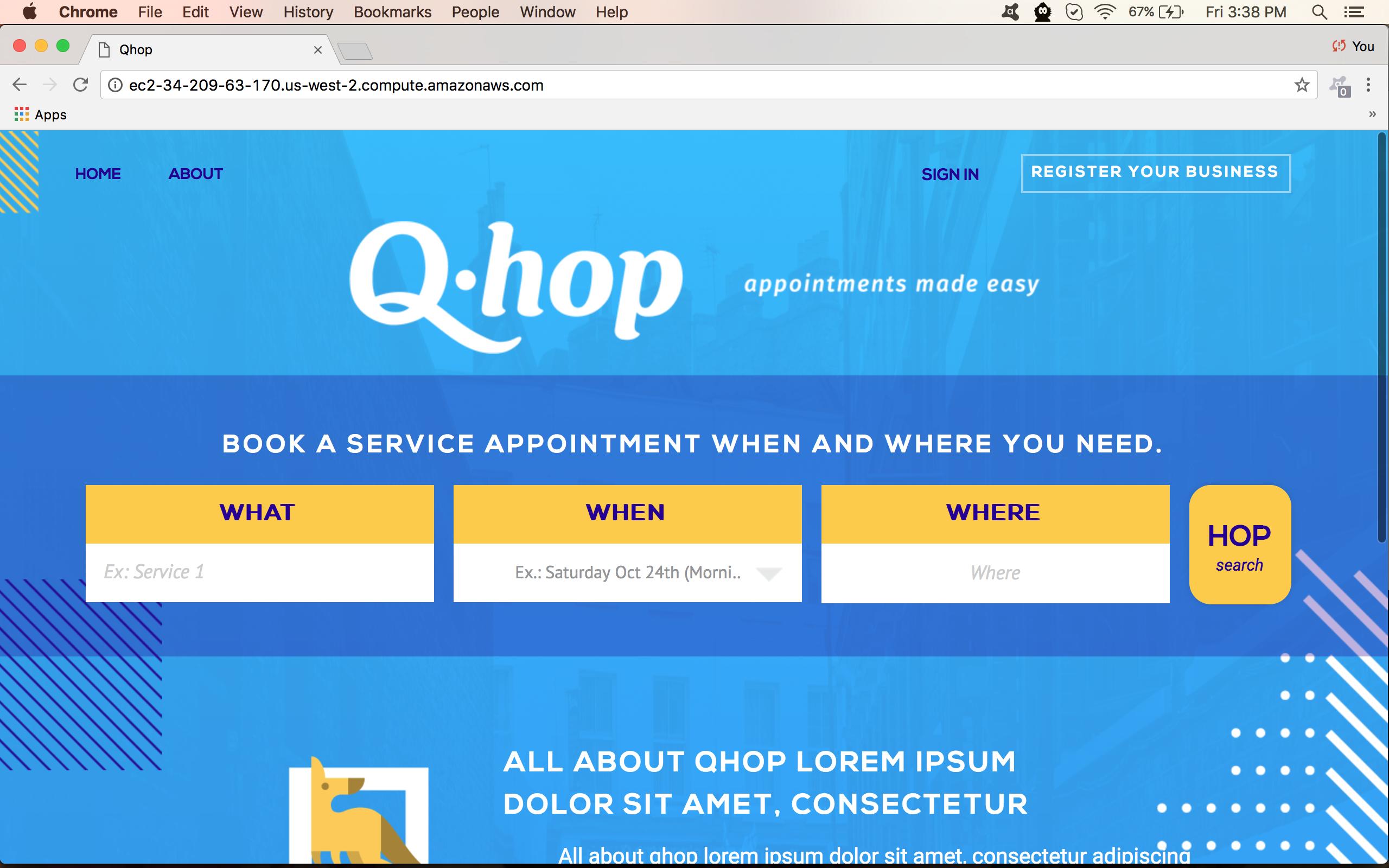 Qhop Node JS Web Application by LEADconcept 528333 - Freelancer on Guru