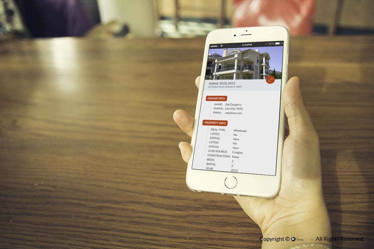 HOUSE HOUNTER - MOBILE APP &UI/UX DESIGN by Naman Modi