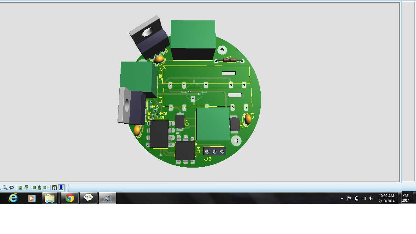 Pcb Design In Proteus By Shahbazali 131849 Freelancer On Guru Circuit Isis Servo Motor Scr Based Digital Ac Dimmer This Regulates The Voltages Using A And Microcontroller