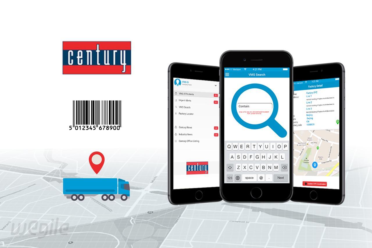 29  Century Logistics by Wegile 571910 - Freelancer on Guru