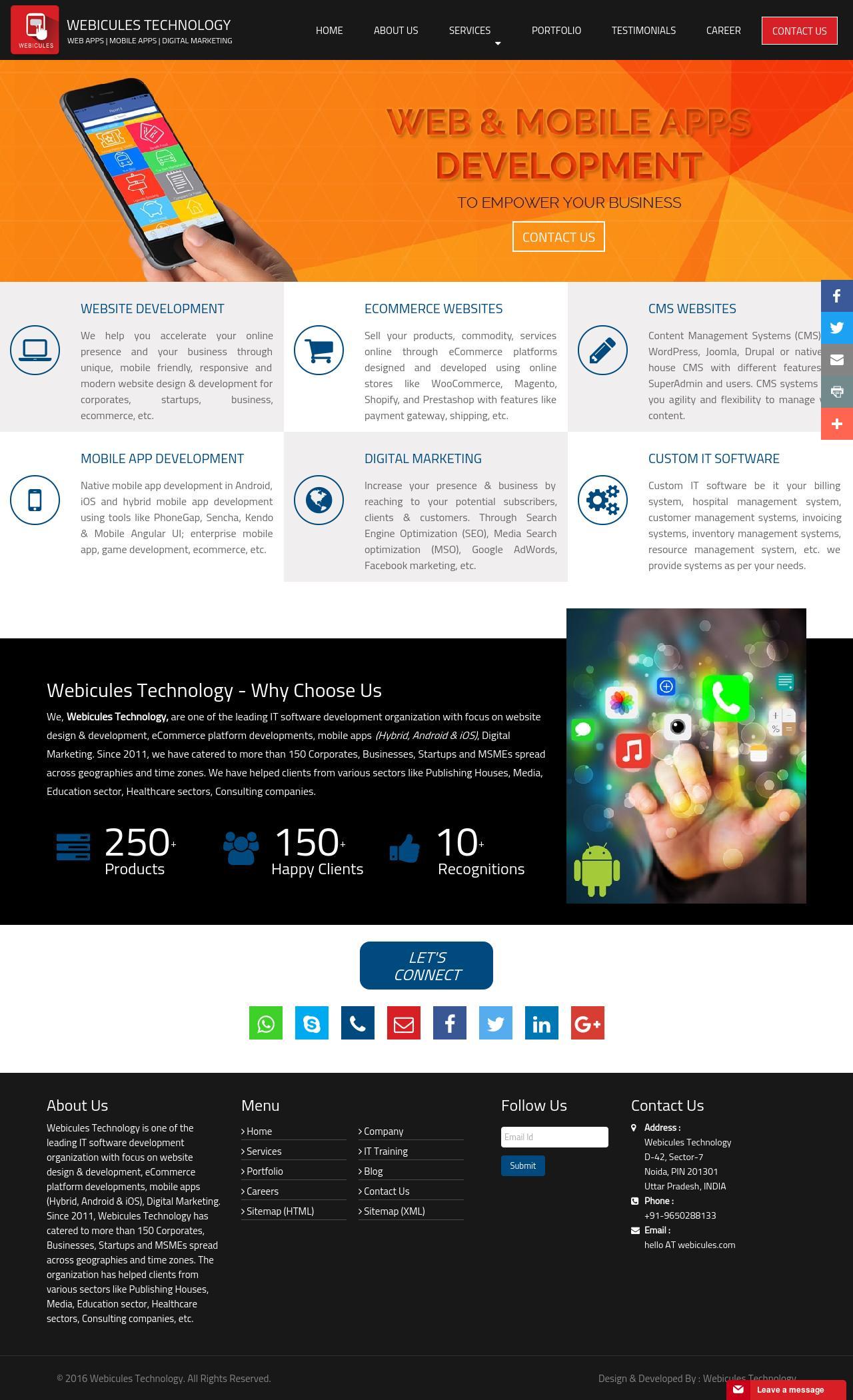 www.webicules.com | Google Map API Integration by Webicules ...