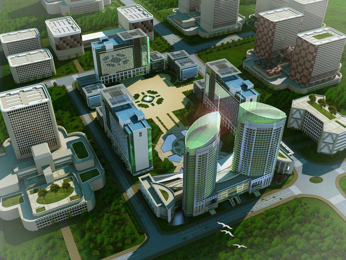 3D High Rise and Commercial Buildings by Magicseed 256645