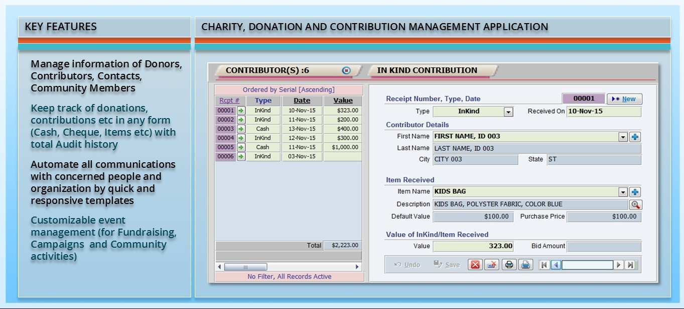 MS Access, MS Excel, VBA Applications (Screenshots) by Zaki
