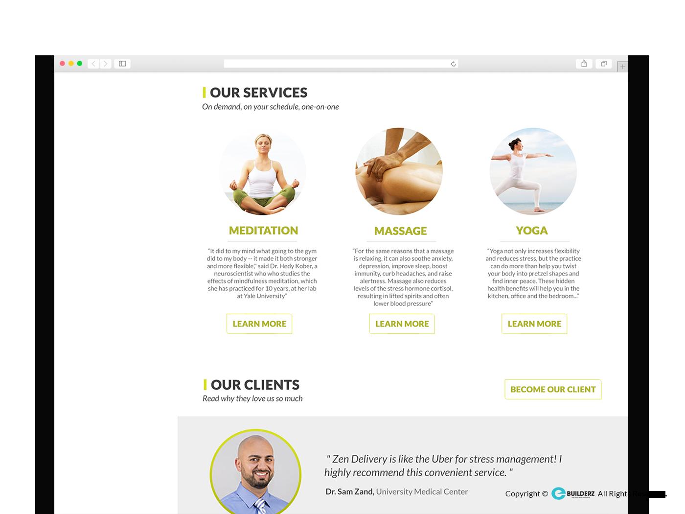 ZEN DELIVERY - WEBSITE DESIGN by RahulGiri 363793 - Freelancer on Guru