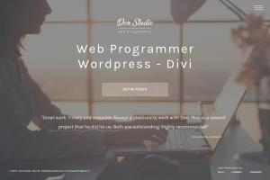 Portfolio for Wordpress and Divi Designer