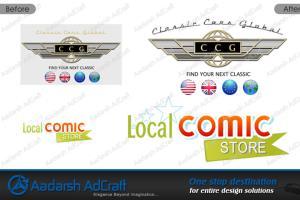 Portfolio for Logo Vector conversion