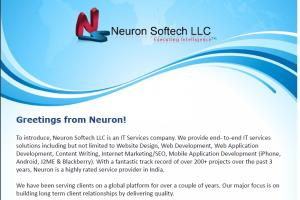 Portfolio for Web Development Services