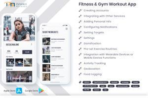 Portfolio for Fitness & Gym Workout Application