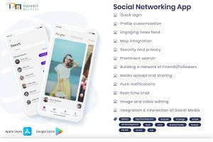 Portfolio for Social Networking App