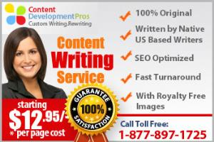 Portfolio for Content Writing Services