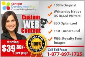 Portfolio for Web Content Writing Service