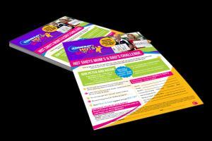 Portfolio for Single page flyer - print ready