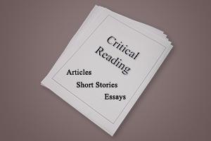 Portfolio for Critical Reading