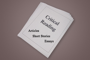 Portfolio for Critical Reading
