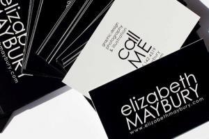 Portfolio for Business Card Designs