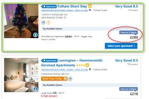 Portfolio for Airbnb / Booking.com Property Management