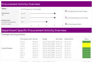 Procurement Activity Overview
