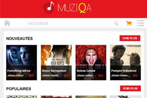 Portfolio for Google play Music Store Clone: French