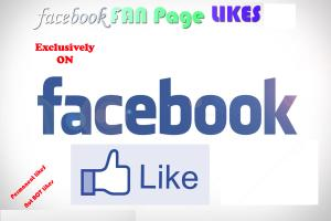 Portfolio for I will give 250 permanent facebook likes