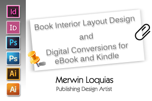Portfolio for Book Interior Layout Designer
