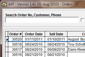 AEP - Order Management System
