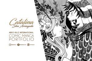 Portfolio for Comic Manga Illustration