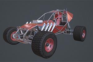 Portfolio for 3D artist, modeler, animator