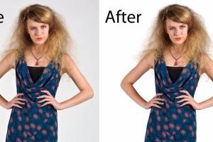 Portfolio for Hair and Photo Masking Service